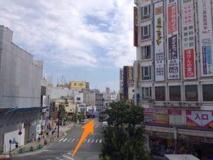 小田原駅東口のロータリー