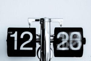頻度を表すカレンダー
