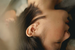 耳つぼ痛い場合は位置が違っている