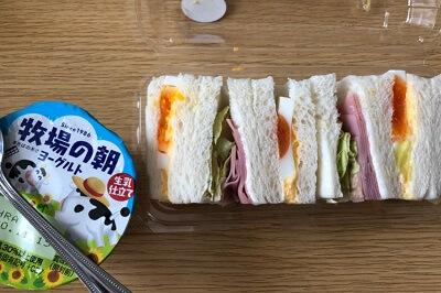 タンパク質の摂取量の実際昼食